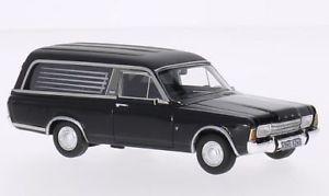 【送料無料】模型車 モデルカー スポーツカー フォードネオford taunus p7 pollmann, schwarz, 143, neo