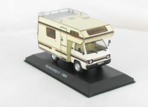 【送料無料】模型車 モデルカー スポーツカー ネットワークキャンプキャンピングカー143 ixo hymercamp ii camping car 28