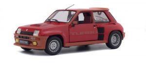 【送料無料】模型車 モデルカー スポーツカー ルノーターボsolido 421184270 118 renault r5 turbo 1984 rot neu