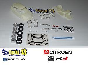 【送料無料】模型車 モデルカー スポーツカー シトロエンキットcitroen ds3 r3   kit montaggio