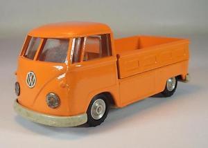【送料無料】模型車 モデルカー スポーツカー ガマミニプラットフォームオレンジ#gama mini 143 vw t1 pritsche orange vermutlich repaint 6431