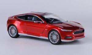【送料無料】模型車 モデルカー スポーツカー フォードオレンジford evos concept, metrotorange, iaa , 143, norev