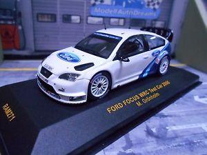 【送料無料】模型車 モデルカー スポーツカー フォードフォーカステストネットワークford focus rs wrc 2006 test testcar grnholm bf goodrich rar ixo 143