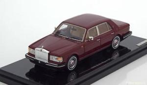 【送料無料】模型車 モデルカー スポーツカー スケールロールスロイスシルバースピリットブラウン143 true scale rolls royce silver spirit 1980 brown