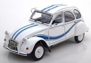 【送料無料】模型車 モデルカー スポーツカー シトロエンフランス118 solido citroen 2cv 6 france whiteblue