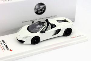 【送料無料】模型車 モデルカー スポーツカー マクラーレンクモハンドルスケールmclaren mp412c spider lhd baujahr 2012 wei 143 truescale