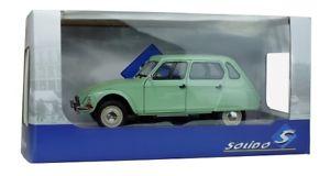 【送料無料】模型車 モデルカー スポーツカー シトロエンsolido 421184010 118 citroen dyane 6 1967 jade grn neu