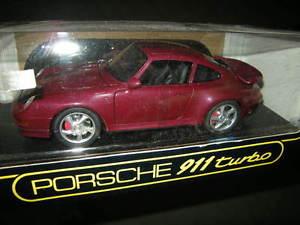 【送料無料】模型車 モデルカー スポーツカー ポルシェターボタイプダークレッド118 anson porsche 911 turbo typ 993 dunkelrotdarkred in ovp