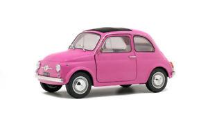 【送料無料】模型車 モデルカー スポーツカー フィアットイタリアピンクsolido 421184540 118 fiat 500l italia 1969 pink neu