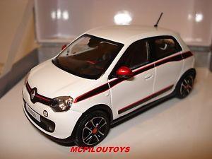 【送料無料】模型車 モデルカー スポーツカー ルノートゥインゴブランクリスタルcret norev renault twingo 3 blanc cristal 2014 au 143 edition limitee