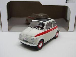 【送料無料】模型車 モデルカー スポーツカー フィアットヌォーヴァスポーツfiat nuova 500 sport anno 1960 118 solido
