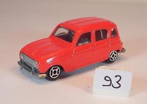 【送料無料】模型車 モデルカー スポーツカー ミニジェットルノーレッド#norev mini jet nr 301894 renault 4l rot 093