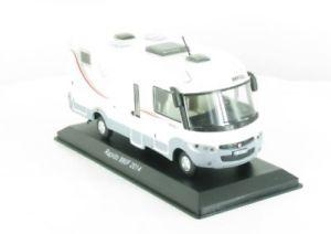 【送料無料】模型車 モデルカー スポーツカー ネットワークキャンピングカーキャンピングカー143 ixo rapido 880f 2014 wohnmobil camping car 15