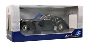 【送料無料】模型車 モデルカー スポーツカー ブガッティタイプアトランティックsolido 421184430 118 bugatti type 57 sc atlantic schwarz neu