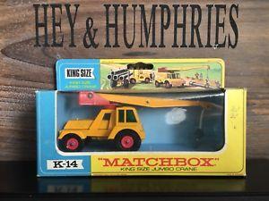 【送料無料】模型車 モデルカー スポーツカー マッチキングサイズバージョンミントmatchbox lesney king size k14a2version mint ovp excellent condition from 1967