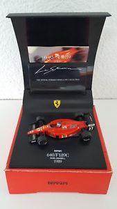 【送料無料】模型車 モデルカー スポーツカー ラストーリアマンセルフェラーリフォーミュラquartzo la storia 143 nmansell ferrari 640 f189c 1989  formel 1