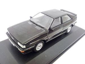 【送料無料】模型車 モデルカー スポーツカー モデルアウディクワトロ12904 corgi model audi quattro 20v mkii met schwarz 143 limited edition