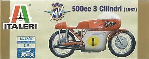 【送料無料】模型車 モデルカー スポーツカー キットヒートタイプkit italeri 19 moto mv agusta 500cc 3 cilindri 1967    art 4604
