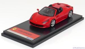 【送料無料】模型車 モデルカー スポーツカー スクウェアエニックスフェラーリスパイダーレッドハット143 fujimi ferrari 458 spider 2011 red