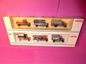 【送料無料】模型車 モデルカー スポーツカー ビンテージセット##mrklin h0 2x oldtimer set 1890 1899