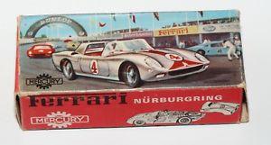【送料無料】模型車 モデルカー スポーツカー フェラーリニュルブルクリンクオリジナルoriginalbox fr mercury nr 60 ferrari nrburgring nur die leere box