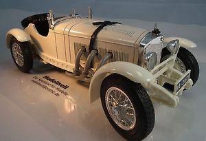 【送料無料】模型車 モデルカー スポーツカー メルセデスベンツモデルカブリオレロードスターmercedes benz ssk cabriolet 1928 von burago modellauto in 118 roadster
