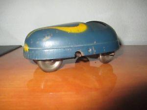 【送料無料】模型車 モデルカー スポーツカー パッドニュージーランドフランスアンティークjouet ancien tole auto tamponneuse jrd old toy french antic