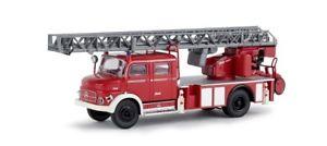【送料無料】模型車 モデルカー スポーツカー brekina 47073 187 mb l 1519 dlk 30 feuerwehr rotweiss neu