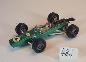 【送料無料】模型車 モデルカー スポーツカー レーサーメタリックグリーン#majorette 165 nr 228 brm f1 racer grnmetallic nummer 4 esso 486