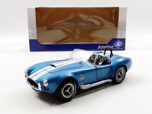 【送料無料】模型車 モデルカー スポーツカー シェルビーコブラsolido 118 ac shelby cobra 427 mk ii 1965 1850017