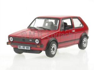 【送料無料】模型車 モデルカー スポーツカー ゴルフレッドモデルカーvw golf 1 gti 1976 rot modellauto 840046 norev 143