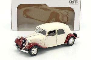 【送料無料】模型車 モデルカー スポーツカー シトロエントションベージュダークレッドcitroen traction 11cv baujahr 1938 beige dunkelrot 118 solido