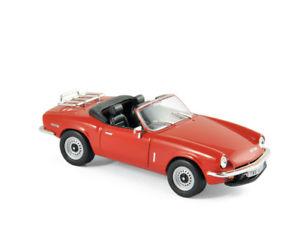 【送料無料】模型車 モデルカー スポーツカー triumph spitfire mk4 1972 rot 143 norev 350098 neu ovp