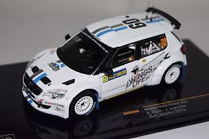 【送料無料】模型車 モデルカー スポーツカー シュコダファビアラリースウェーデン#ネットワークskoda fabia rally schweden 2012 60 sogierjingrassia 143 ixo neu ovp