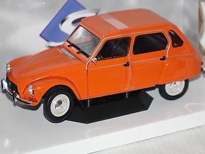【送料無料】模型車 モデルカー スポーツカー シトロエンオレンジcitroen dyane 6 1967 orange 118 solido 1800304 neu amp; ovp