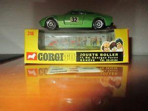 【送料無料】模型車 モデルカー スポーツカー コーギーフォードジュネーブcorgi toys ford gt 70 ref 316 jouet boller geneve