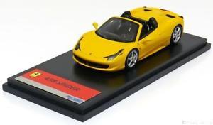 【送料無料】模型車 モデルカー スポーツカー スクウェアエニックスフェラーリスパイダーイエロー143 fujimi ferrari 458 spider 2011 yellow
