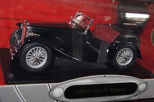 【送料無料】模型車 モデルカー スポーツカー ミジェットブラックヤットミンmg tc midget 1947 schwarz 118 yat ming neu amp; ovp 92468bk