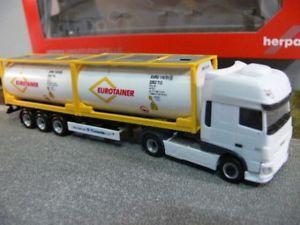 【送料無料】模型車 モデルカー スポーツカー 187 herpa daf xf ssc euro 6 eurotainer tankcontainersattelzug 306829