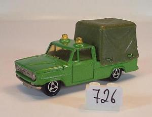 【送料無料】模型車 モデルカー スポーツカー ダッジグリーンメタリック#majorette 180 dodge kommunalfahrzeug grnmetallic 726