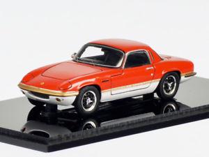 【送料無料】模型車 モデルカー スポーツカー スパークロータスエランスプリントspark lotus elan sprint fhc 1971 red 143 s2228