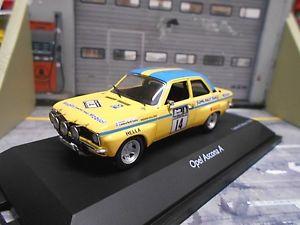 【送料無料】模型車 モデルカー スポーツカー オペルアスコナラリー#モバイルopel ascona a rac gb rallye 14 kullng karlsson 1972 hella mobil 1 schuco 143