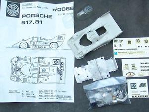 【送料無料】模型車 モデルカー スポーツカー ミニレーシングモデルキットポルシェルマン#mini racing 066 143 resine model kit porsche 917k lemans 1981 10