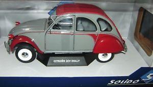 【送料無料】模型車 モデルカー スポーツカー ドリーsolido citron 2cv dolly
