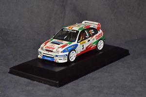 【送料無料】模型車 モデルカー スポーツカー レーシングトヨタカローラサインツモヤモンテカルロキットracing43 toyota corolla wrc sainzmoya winners montecarlo 1998 bulit kit 143
