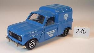 【送料無料】模型車 モデルカー スポーツカー ルノーフランス#majorette 165 nr 230 renault 4 l telefon frankreich nr2 216