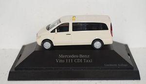 【送料無料】模型車 モデルカー スポーツカー メルセデスベンツビトータクシーパソコンherpa mercedesbenz vito 111 cdi taxi limitierte auflage 187 pc ovp r2_4_16
