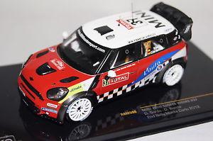 【送料無料】模型車 モデルカー スポーツカー ミニクーパー#モンテカルロバリオネットワークmini jonn cooper works 37 monte carlo 2012 dsardodbarrio 143 ixo neu ovp