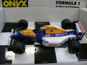 【送料無料】模型車 モデルカー スポーツカー オニキスウィリアムズルノーデイモンヒル124 onyx williams renault fw15c damon hill 5009