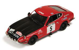 【送料無料】模型車 モデルカー スポーツカー ダットサン#トッドモンテカルロネットワークdatsun 240z 5 todtaaltonen monte carlo 1972 ixo 143 rac039